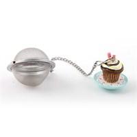 Çay Süzgeci, Polirezen Dekorlu Çikolatalı Cup Cake