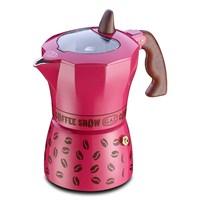 Gat Coffee Show Moka Makinası 6 Kişilik Pembe