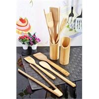 Royal Windsor 10 Parça Bambu Kaşık Seti