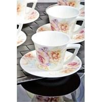 Royal Windsor Çantali Lüx Porselen 6 Kişilik Kahve Fincan Takımı