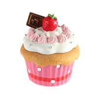 Kancaev Cup Cake Kutu, Beyaz Kremalı-Çilekli