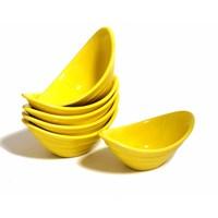 Keramika Çerezlik Gondol 16 Cm Sarı 100