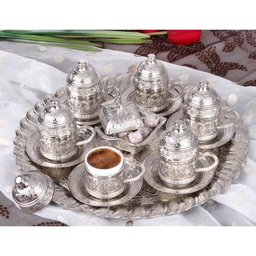In my 6 lı Türk Kahve Seti Ve Lokumluk