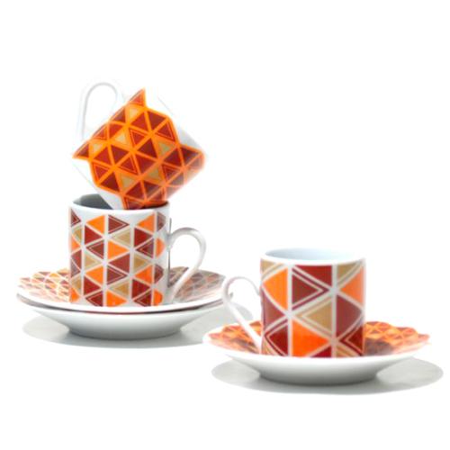Dodo Destınatıons 6 Lı Çay Fincanı Seti Naırobı