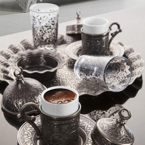 Sena Sultan Karizma Kahve Takımı İki Kişilik