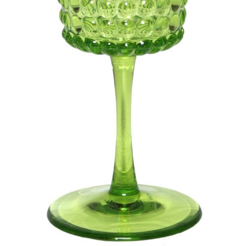 Şarap Kadehi Yeşil Akrilik