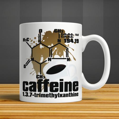 İf Dizayn Kahvenin Kimyası Baskılı Kupa Bardak