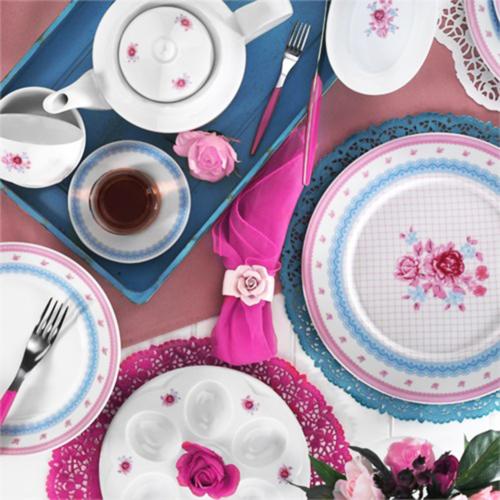 Kütahya Porselen Leonberg 8906 Desen 43 Parça Kahvaltı Takımı