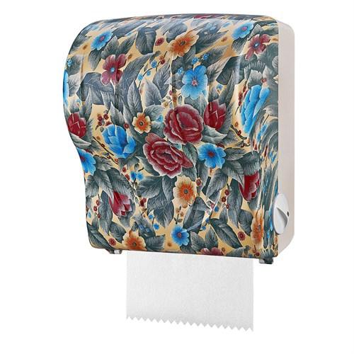 Rulopak Auto Cut Mavi Çiçek Desenli Havlu Makinesi