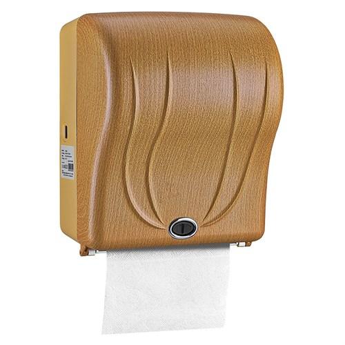Rulopak R-1301-D4 Açık Ahşap Desen Sensörlü Havlu Makinesi 21 cm