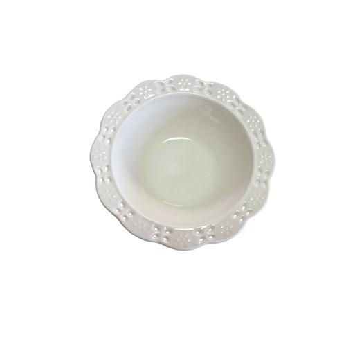 D-Sign Home Porselen Dantelli Kase 6 adet