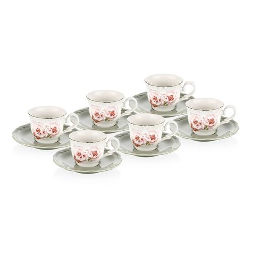 Laviva Vera 12'Li Çay Takımı - Yeşil