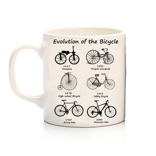 Köstebek Evolution Of The Bicycle Kupa