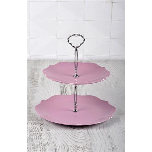 Keramika Set Meyvelik Romeo 2 Katlı Violet 451 A