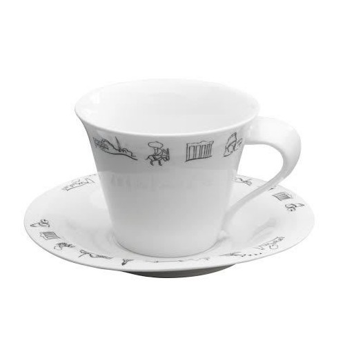 Emsan Anadolu 6'Lı Kahve Fincan Seti Beyaz
