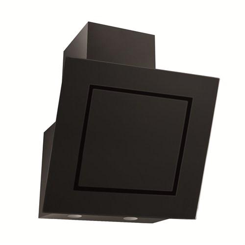 Simfer 8651 60 cm Siyah Yatık Cam Davlumbaz