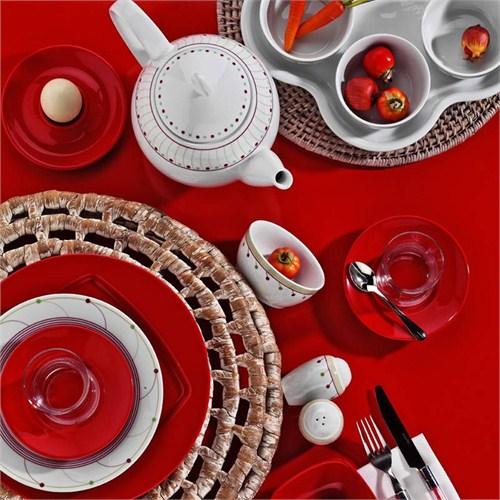 Kütahya Porselen Yasemin 43 Parça 647717 Desen Kahvaltı Takımı
