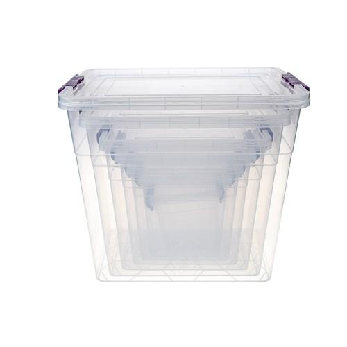 Modelüks Ultra Kiler Saklama Kabı Set 4 - 1,7Lt, 3,8Lt, 6,8Lt, 11,5Lt, 19Lt, 32Lt, 45Lt
