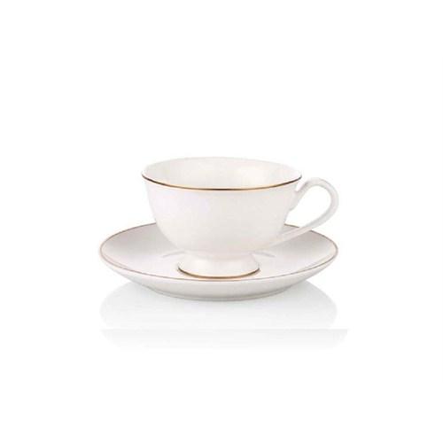Noble Life Gold Line 6 Kişilik Çay Fincanı Seti - 17322