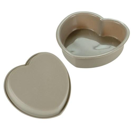iHouse 1429 Silikon Jöle Kalıbı Kalp Sütlü Kahve