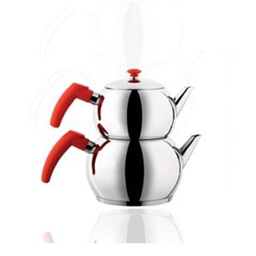 Remetta Aile Çaydanlık Kırmızı