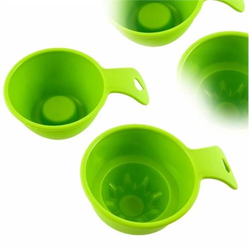 Atadan 2 li Düz-Yıldızlı Pilav Tatlı Kalıbı Yeşil