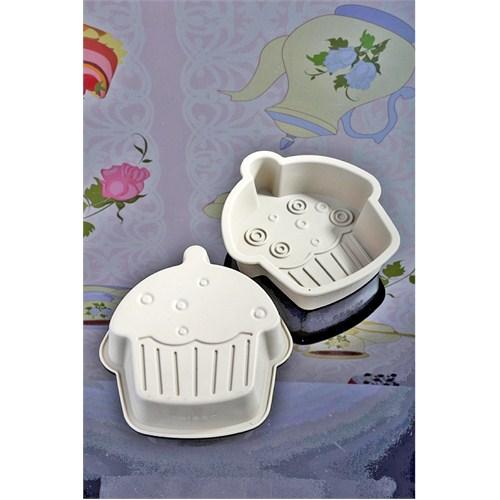 Royal Windsor 3 Adet Silikon Cup Cake Şekilli Lüx Kek Kalıbı