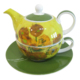 LunArt V.Gogh Kişiye Özel Çay Set