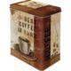 Nostalgic Art Best Coffee in Town Teneke Saklama Kutusu Large