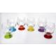 Lav Renkli Meşrubat Bardağı Ayaklı 6'lı