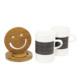 Biggmug 2 li Yazı Tahtalı Porselen Kupa Seti