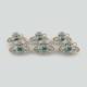 Güral Porselen El Dekoru Gözde 6 Kişilik Kahve Takımı