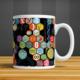 İf Dizayn Matematik Sembolleri Baskılı Kupa Bardak