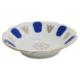 Cutechef Kitchen Porselen Yaldızlı Mavi Çay Tabağı
