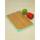Renkli kenarlı Bambu kesme tahtası