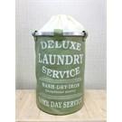Alla Turca Laundry Service Yeşil Çamaşır Sepeti
