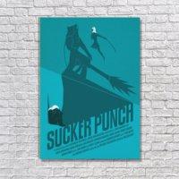 Albitablo Poster Love Sucker Punch Kanvas Tablo