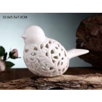 Gönül Porselen Porselen Beyaz Küçük Kuş Biblo