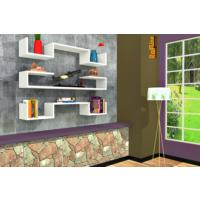 Rafline Violet Kitaplık - Beyaz