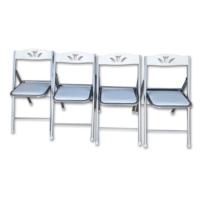 Vural Ultra Katlanır Kırma 4'Lü Sandalye Takımı