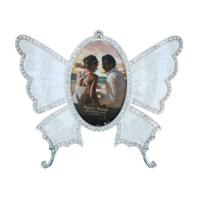 Gold Dekor Kelebek Gümüş Renk Resimlik 2