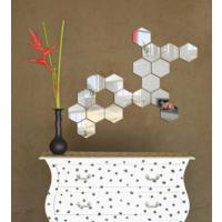 Dekorjinal Ay67 Hexagon Dekoratif Ayna