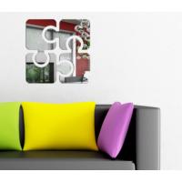 Dekorjinal Ay23 Square Puzzle Dekoratif Ayna