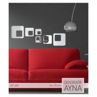 ARTİKEL Retro Kareler Ayna Sticker 54,4x19,8 cm DP-400