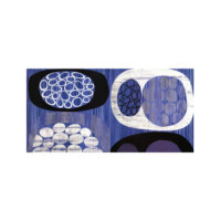 ARTİKEL Blue Shapes 2 Parça Kanvas Tablo 80x40 cm KS-809