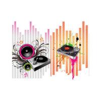 ARTİKEL Floral Music 2 Parça Kanvas Tablo 80x100 cm KS-618