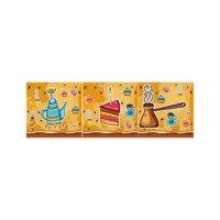 ARTİKEL Beş Çayı 3 Parça Kanvas Tablo 40X120 Cm KS-745