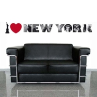 Alldeco by Akalın I Love New York I 50X70 cm Ds-Au1079