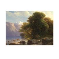 ARTİKEL Alexandre Calame - The Lake of Thun 50x70 cm KS-1398