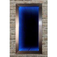 Mavi Dizayn Tünel Işıklı Sonsuz Ayna 60x120 cm
